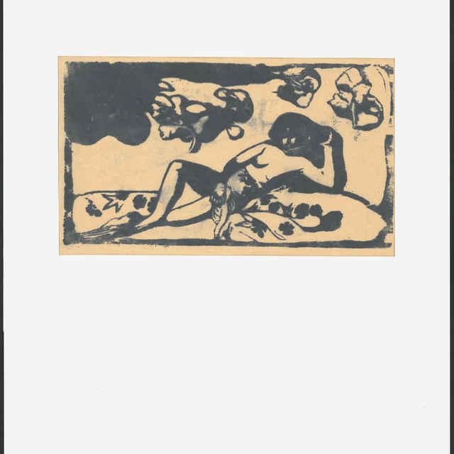 <u>Gauguin</u>, Paul: Žena z kráľovského rodu