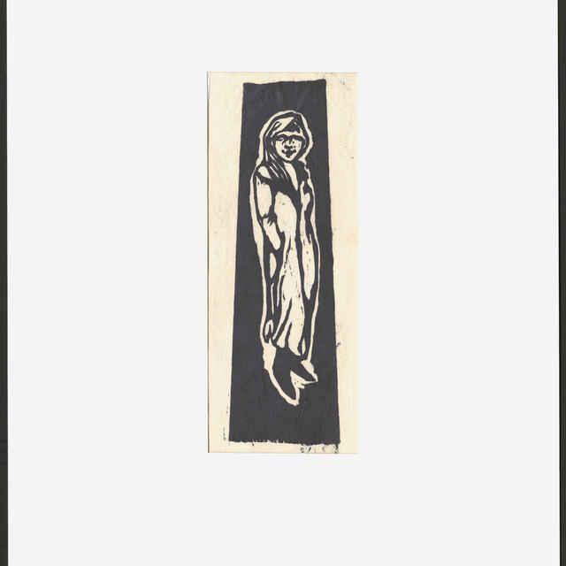 Gauguin, Paul: Stojace dievčatko - Gauguin, Paul