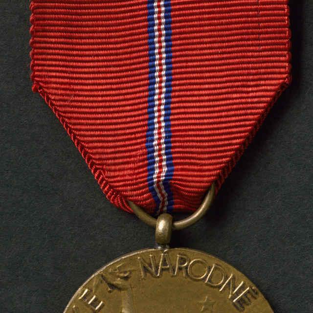 Pamätná medaila k 20.výročiu SNP.