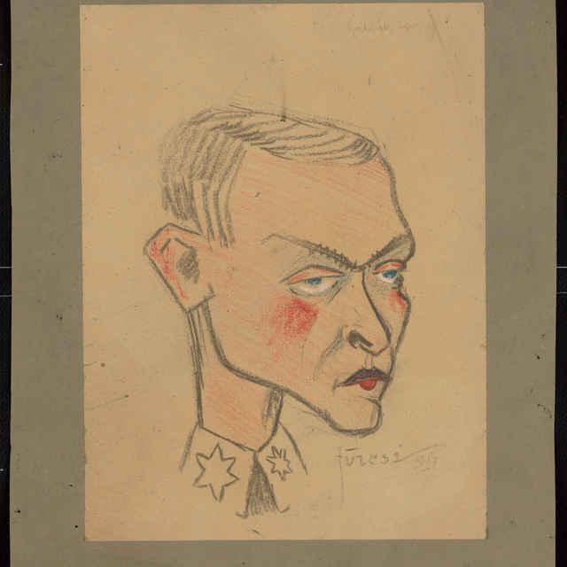 Karikatúra vojaka z I. sv. vojny