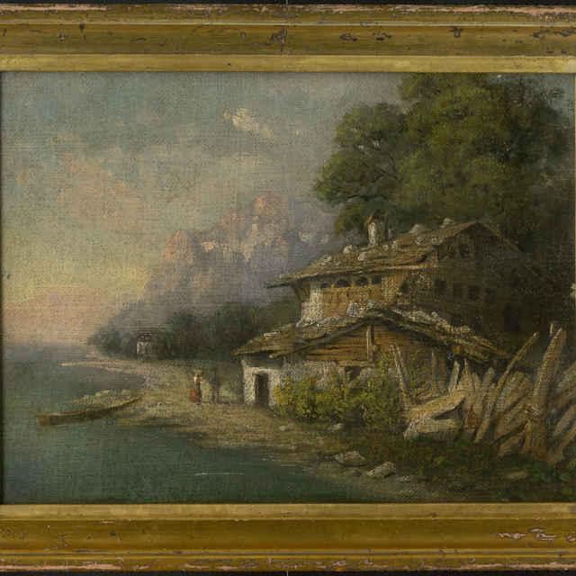 Rybárska chatrč - neznámy (osobné meno)