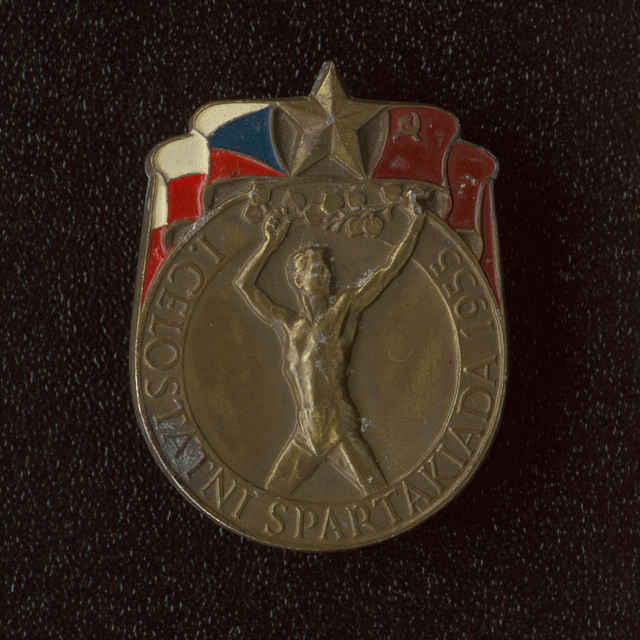 Odznak I. celostátní spartakiáda 1955