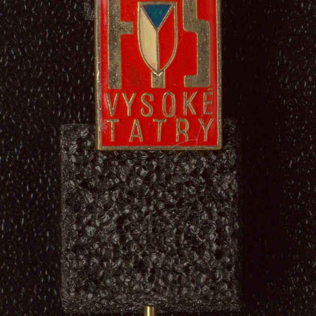 Odznak MS 1970 FIS Vysoké Tatry