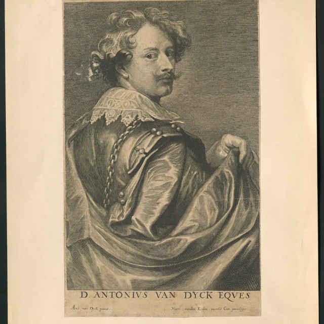 Martin van den Enden: Podobizeň Antona van Dycka - Dyck, Anthony van