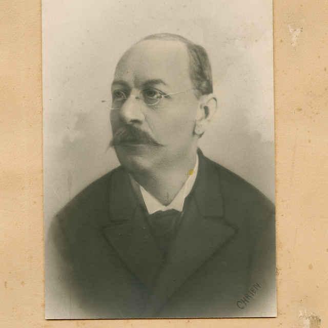 Fotografia profesora Baníckej akadémie