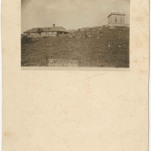 Fotografia, chata na Sitne