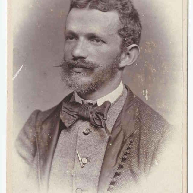 Fotografia muža z roku 1868