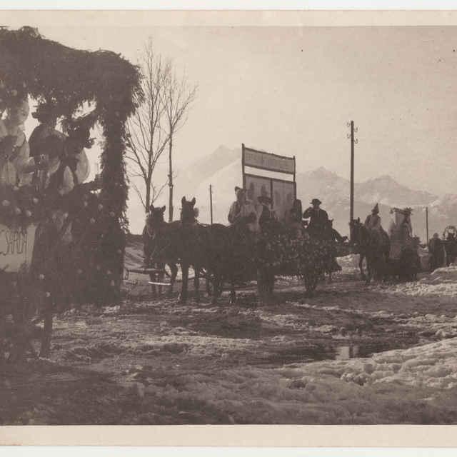 Fotografia Fašiangov v Spišskej Belej - Muzeálny objekt