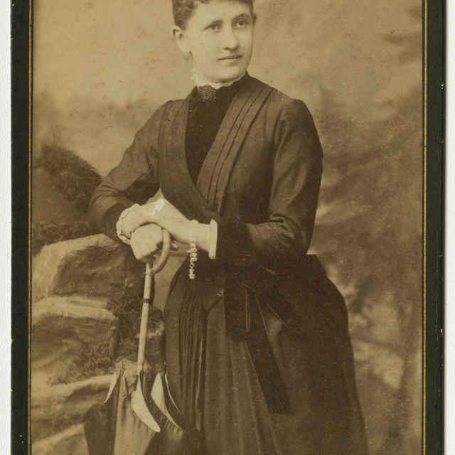 Fotografia neznámej ženy - Muzeálny objekt
