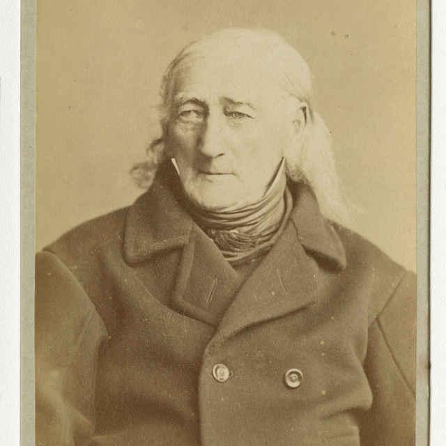 Fotografia starého muža