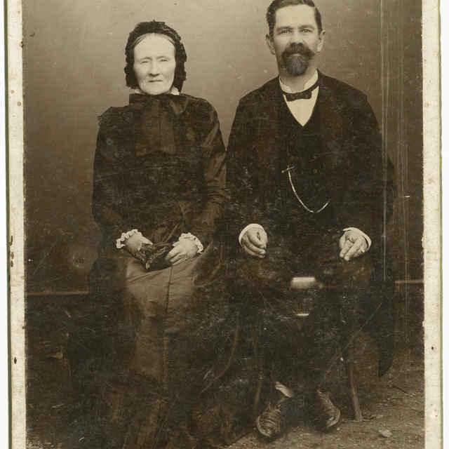 Foto Adolfa Medzihradského s manželkou
