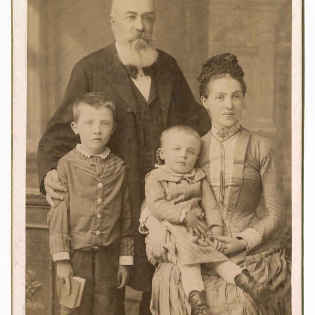 Fotografia rodiny Grosz