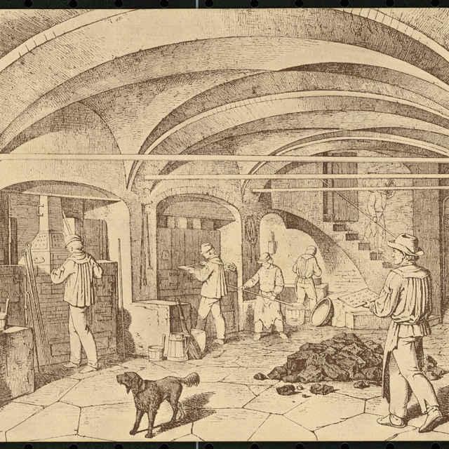 Pohľadnica, Triediči rudy, séria pohľadníc Baníctvo a hutníctvo