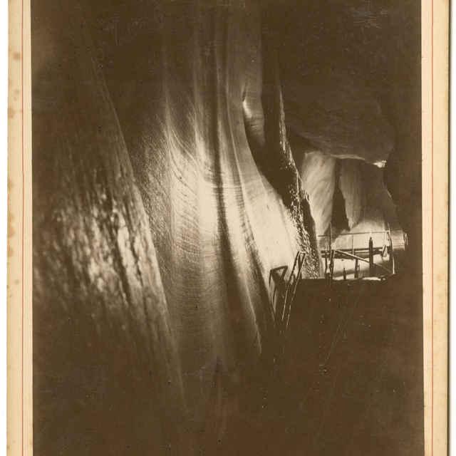 Dobšinská ľadová jaskyňa (fotografia) - Rückwardt, Oskar, Hermann