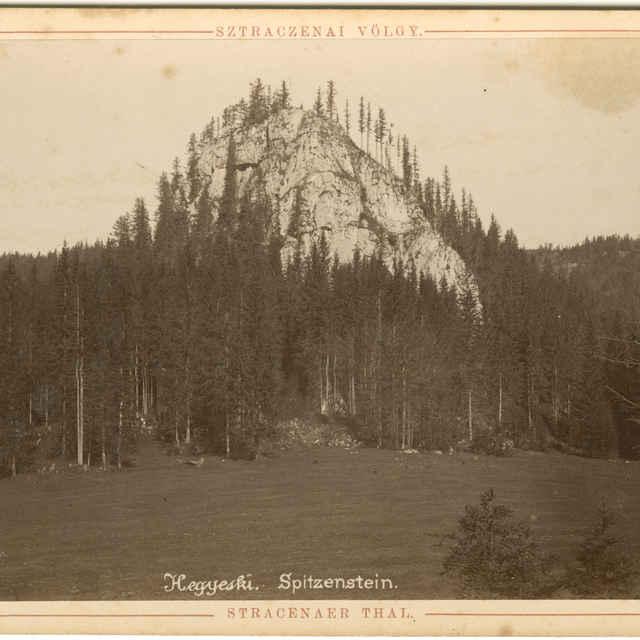 Ostrá skala (fotografia) - Rückwardt, Oskar, Hermann