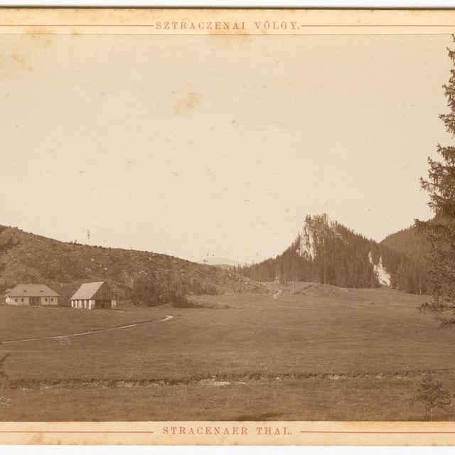 Stratenská dolina (fotografia) - Rückwardt, Oskar, Hermann