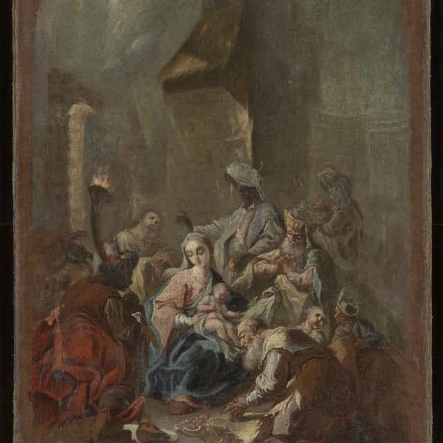 Klaňaie Troch Kráľov - Cimbal, Johann Ignaz
