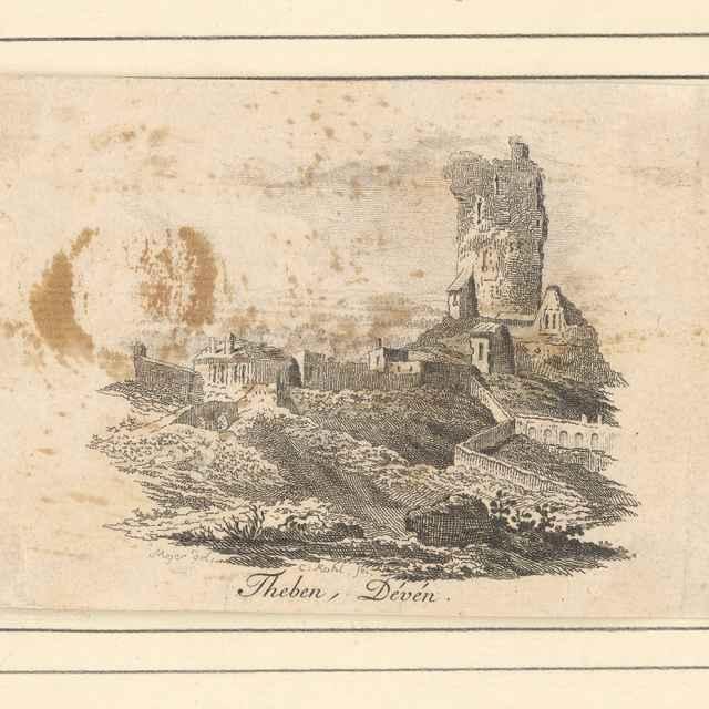 Pohľad na hrad Devín - Kohl, Clemens