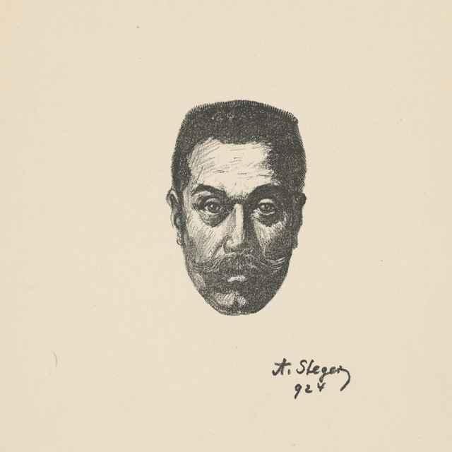 Autoportrét - Stéger, Anton