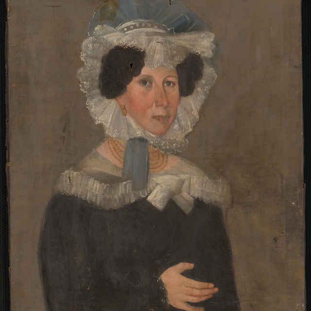 Obraz, Neznáma žena, olejomaľba, 19. storočie - neznámy (osobné meno)