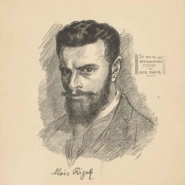 Autoportrét - Rigele, Alojz