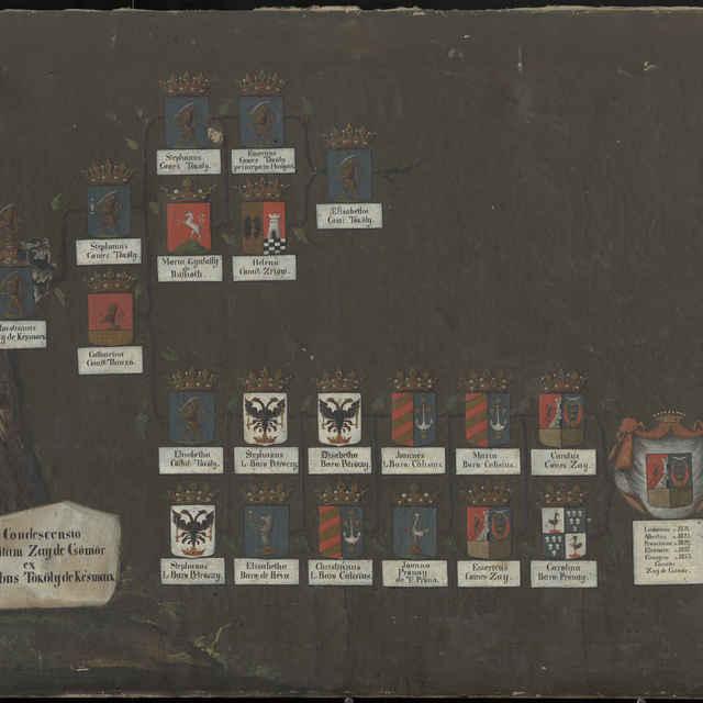 Rodokmeň rodiny Zay de Csömör a Tököly de Késmark - neznámy (osobné meno)