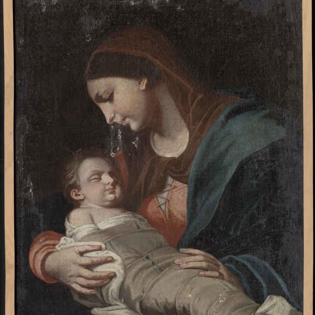 Madona s dieťaťom - Weissenkircher, Hans Adam