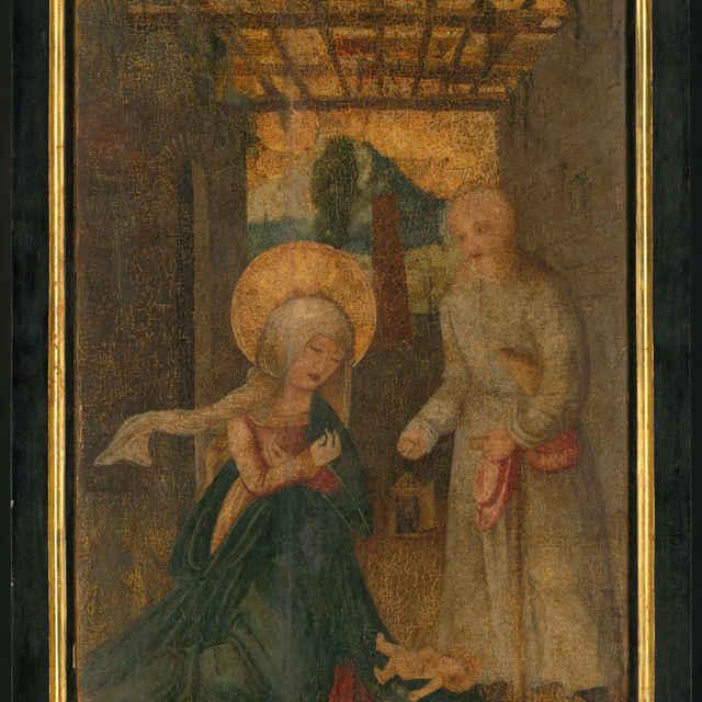 Oltárna tabuľa z Ilije - Narodenie - neznámy (osobné meno)