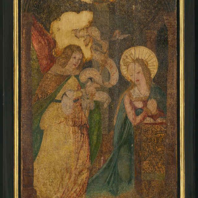 Oltárna tabuľa z Ilije - Zvestovanie Panny Márie - neznámy (osobné meno)