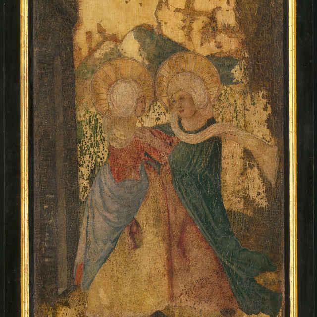 Oltárna tabuľa z Ilije - Navštívenie Panny Márie - neznámy (osobné meno)