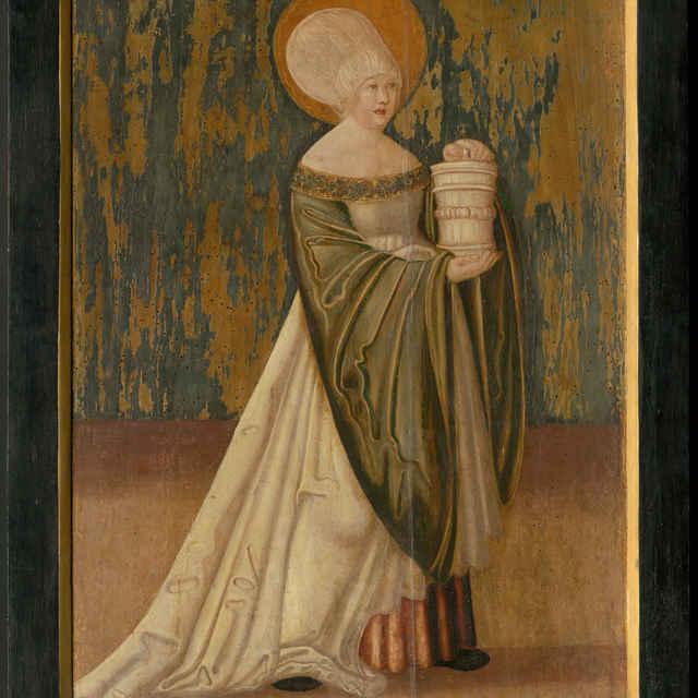 Oltárna tabuľa z Ilije - Svätá Mária Magdaléna - neznámy (osobné meno)