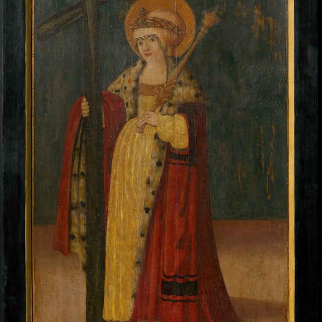 Oltárna tabuľa z Ilije - Svätá Helena - neznámy (osobné meno)