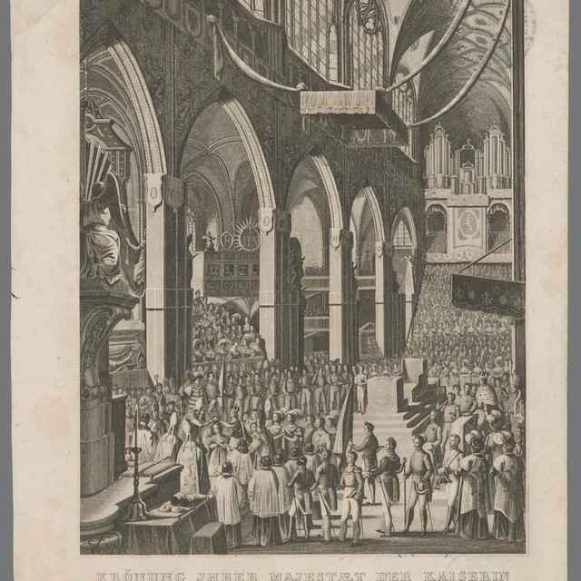 Korunovácia cisárovnej Márie Anny za českú kráľovnú - Rybička, Josef