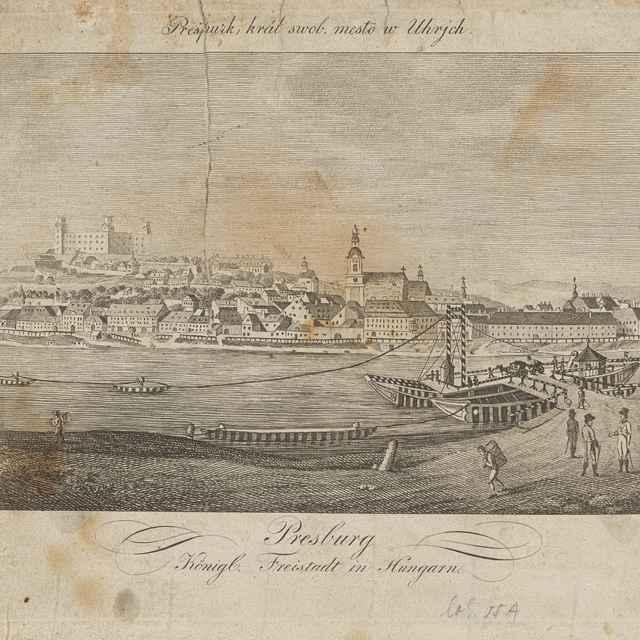 Bratislava - Slovenský maliar zo začiatku 19. storočia