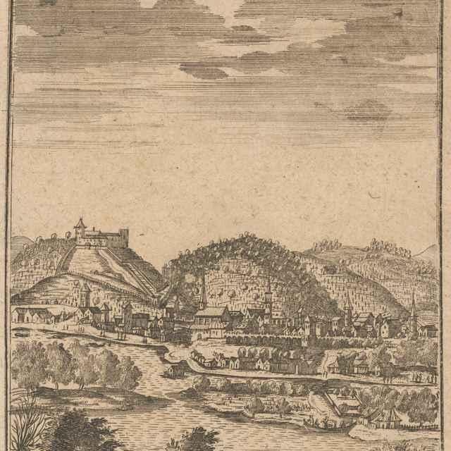 Bratislava z juhu - Hoefnagel, Joris