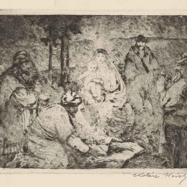 Klaňanie troch kráľov - Kotász, Károly