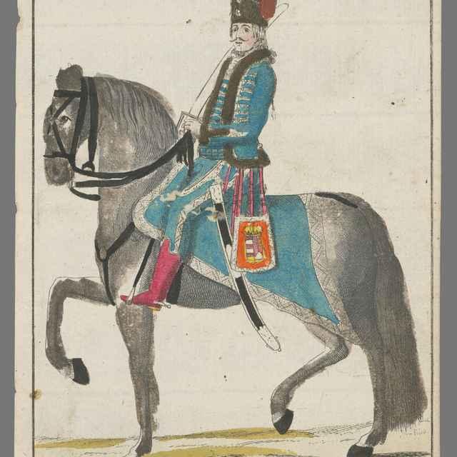 Delegát za Báčskú župu na korunovácii Leopolda II. - Berken, János