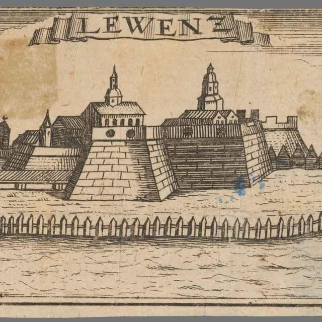 Levice - Stredoeurópsky grafik zo 17. storočia