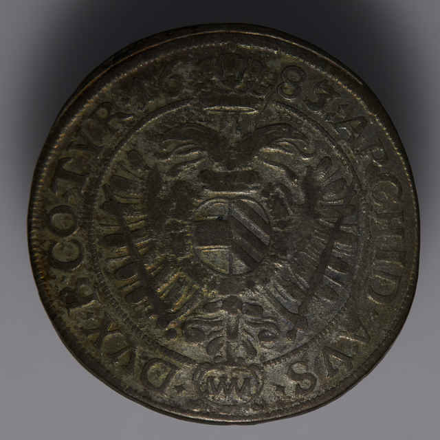 Minca kráľa Leopolda I. (15-grajciarnik, Rakúsko, 1683)