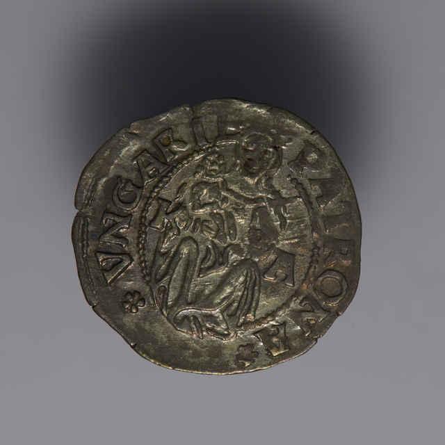 Denár Ľudovíta II. (1516-1526), uhorský, Kremnica, zn. K - A, 1526 - z hromadného nálezu