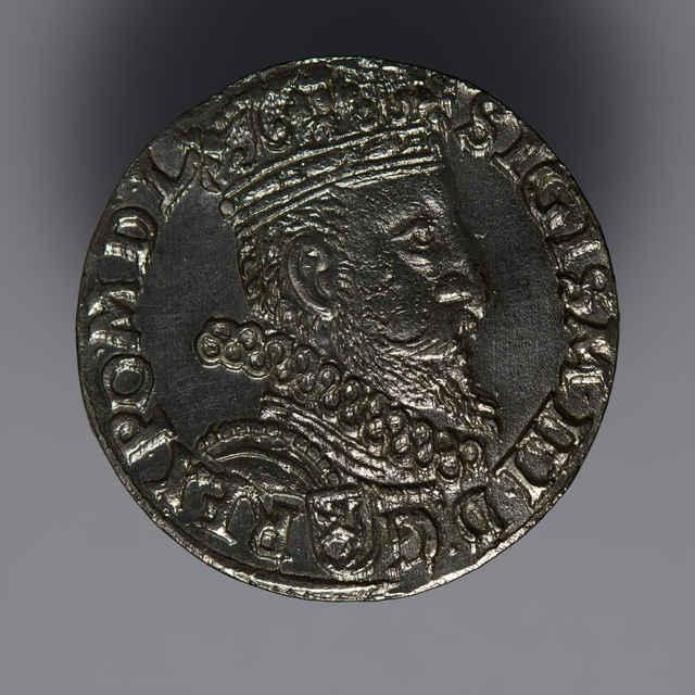Minca kráľa Žigmunda III. Vasu (Trojgroš, Poľsko, 1602)
