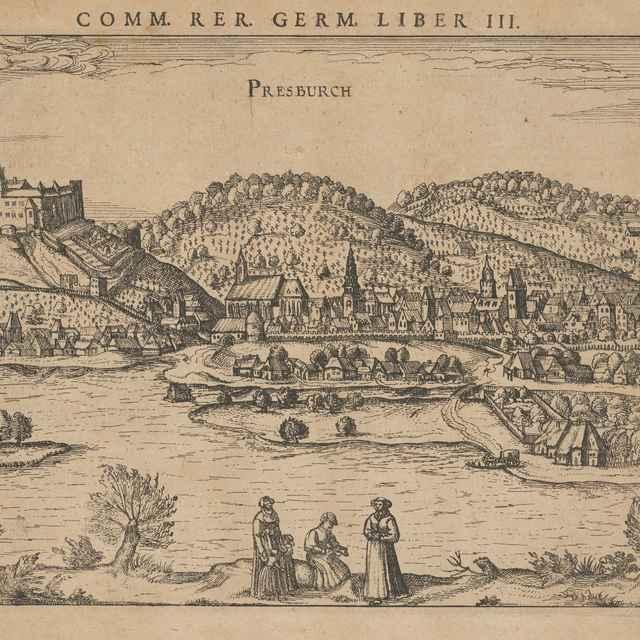 Bratislava z juhu - Hoogenberg, Franz