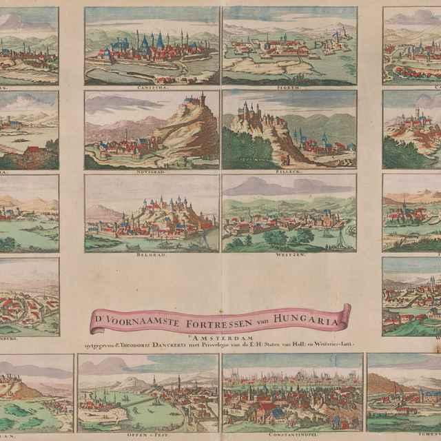Pohľad na Bratislavu z juhovýchodu - Danckerts, Theodorus