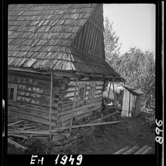 Fotonegatív čiernobiely Nová Bystrica