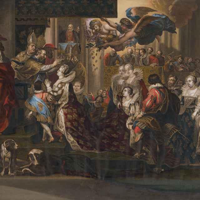 Korunovácia Marie de Medici - Rubens, Peter Paul