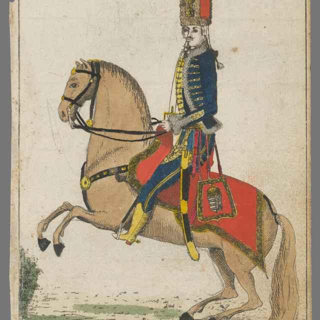 Delegát Komárňanskej župy na korunovácii Leopolda II. - Berken, János