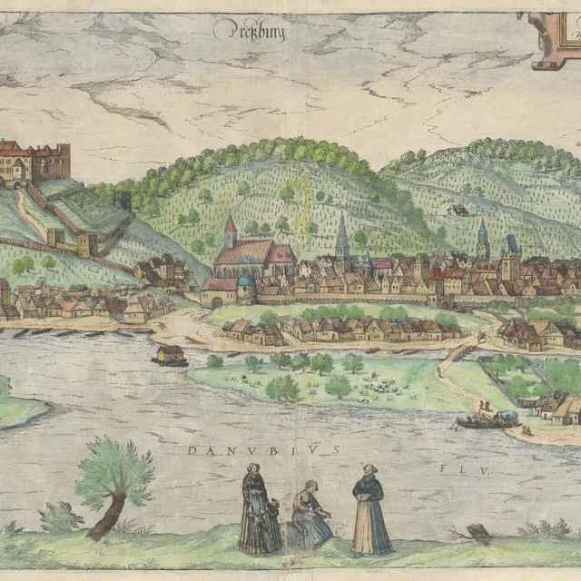 Bratislava v roku 1572 - Hoogenberg, Franz