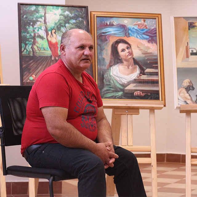 Jozef Cichý - cesta k výtvarnému umeniu - Madžová, Dominika