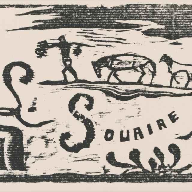 Záhlavie revue Úsmev II. - Gauguin, Paul