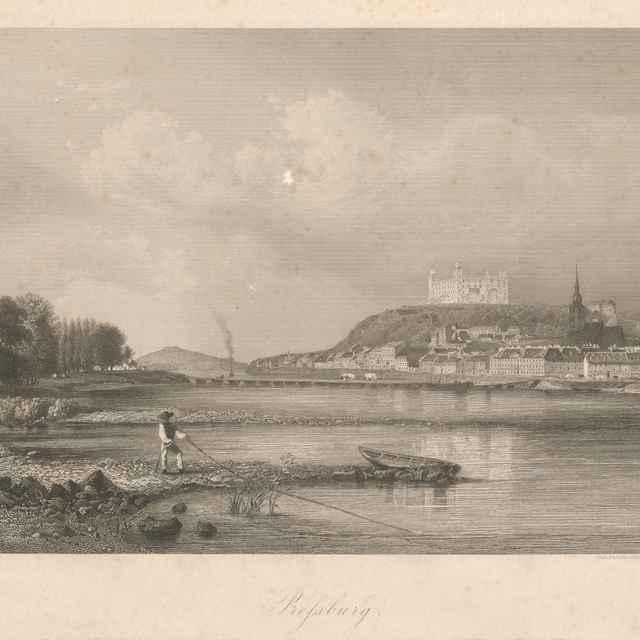 Bratislava z juhu - Lang, Wiliam